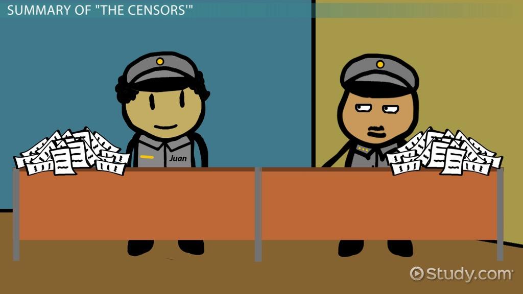 The Censors Summary Theme Analysis Video Lesson Transcript