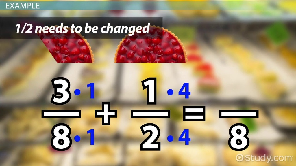 Adding Subtracting Rational Numbers Video Lesson Transcript