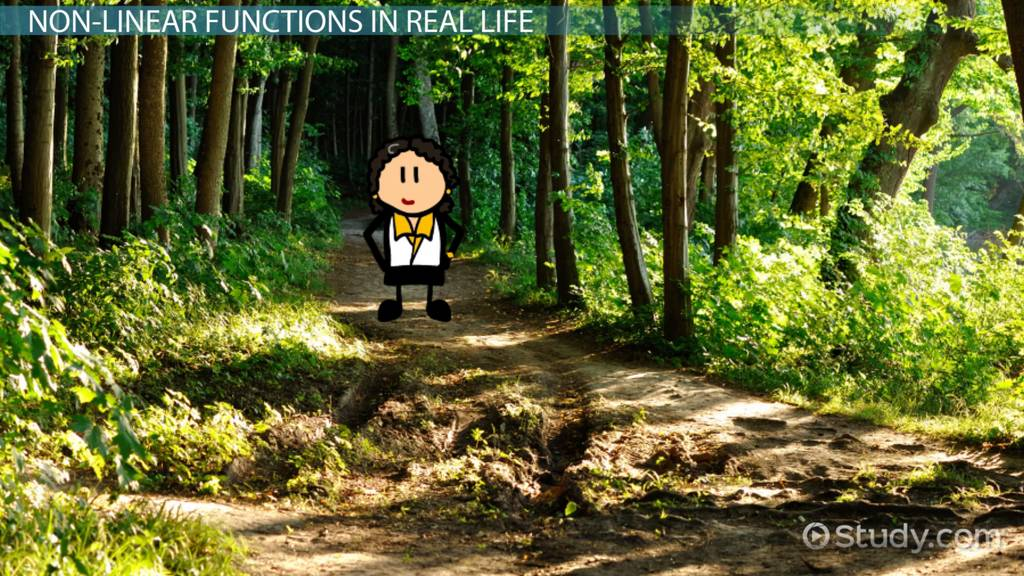 using nonlinear functions in real life situations video