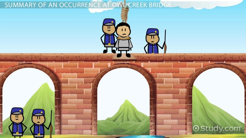 "occurrence at owl creek bridge essay An occurrence at owl creek bridge essay writing a successful essay on ""an occurrence at owl creek bridge"" is a matter of understanding the story and knowing the structure of an essay the introductive part you should know that the story has three main parts the introduction should contain information about the story like when is the."