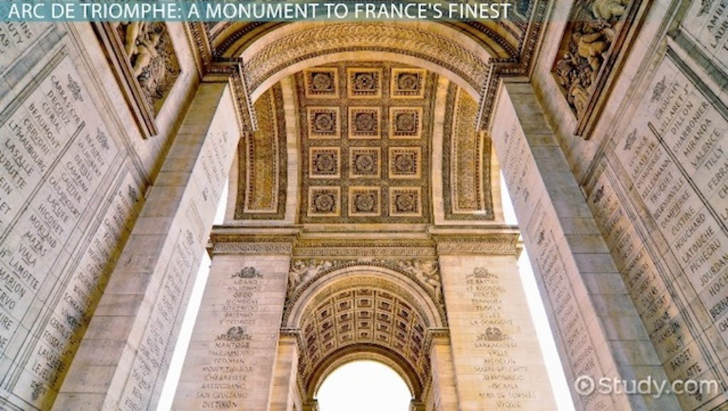 Gre Test Prep >> Arc de Triomphe: History & Facts Video with Lesson Transcript | Study.com