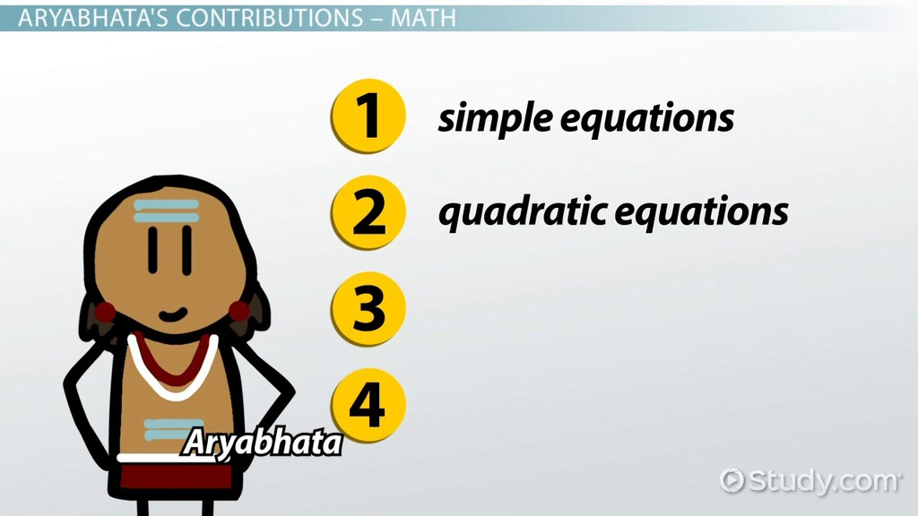 Aryabhata mathematician history biography video lesson aryabhata mathematician history biography video lesson transcript study fandeluxe Choice Image
