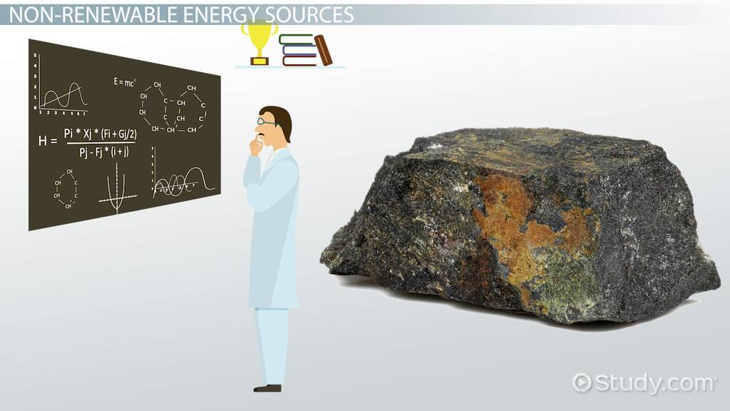 Non-Renewable Energy Facts: Lesson for Kids