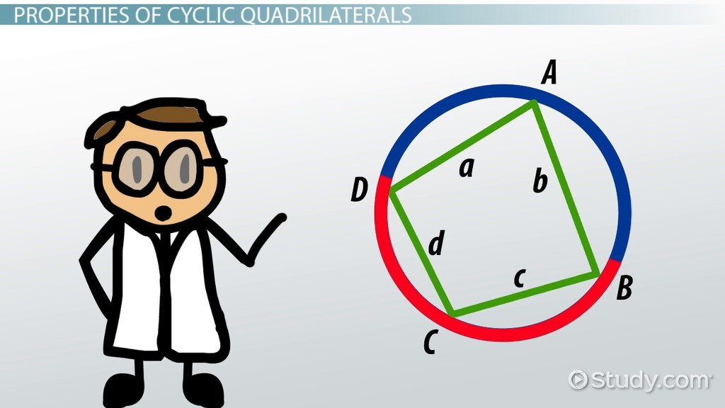 Cyclic quadrilateral definition properties rules video cyclic quadrilateral definition properties rules video lesson transcript study fandeluxe Gallery