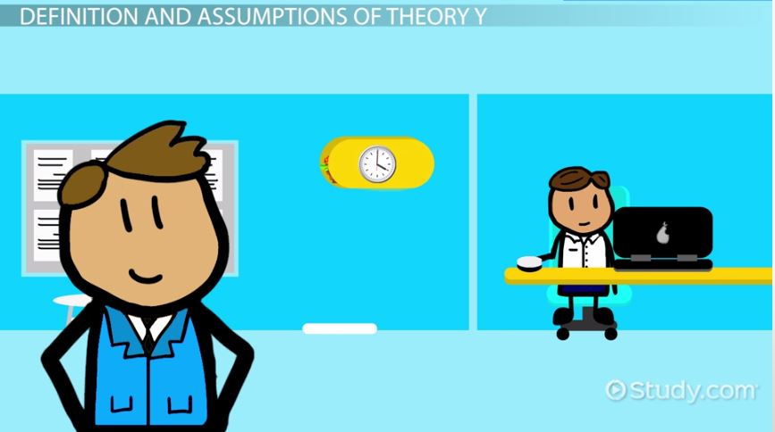 theory x and y management examples
