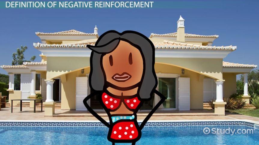 negative reinforcement  examples  u0026 definition