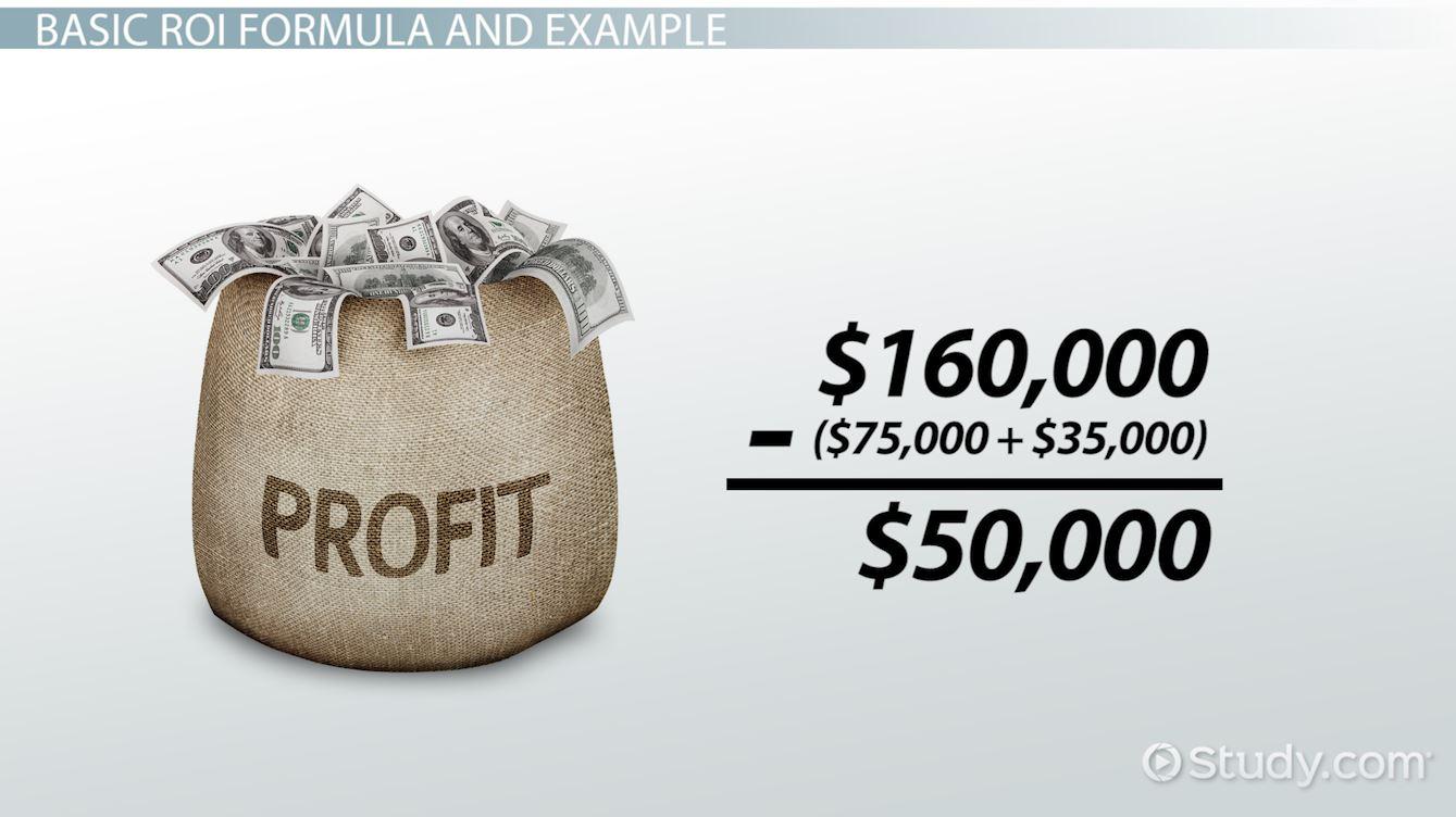 Return investment definition forex brokers giving bonus