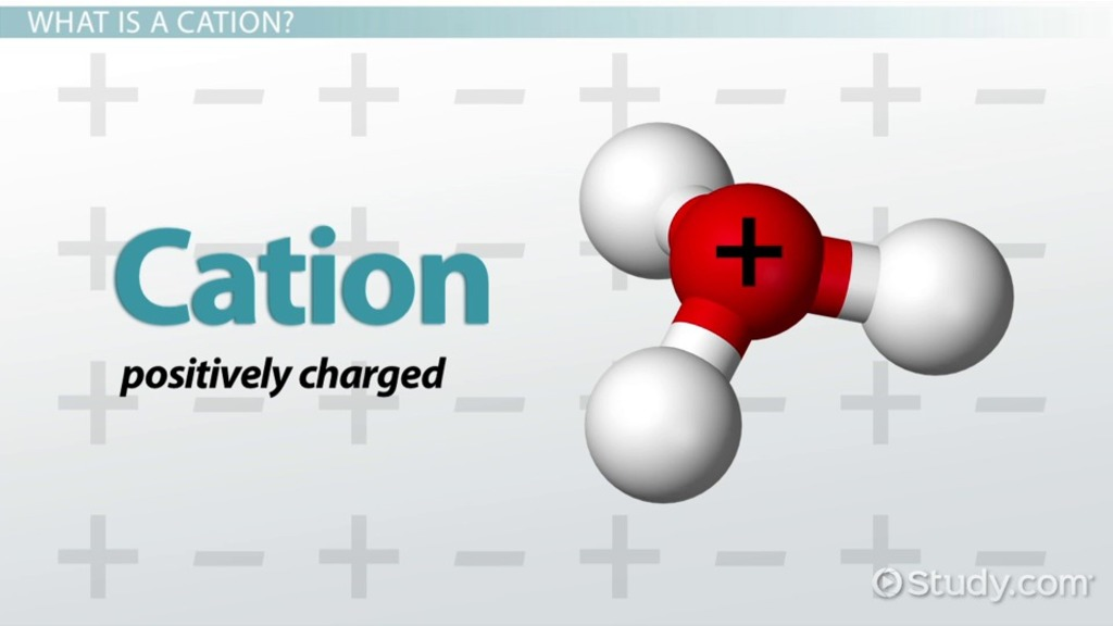Cation Definition Examples Video Lesson Transcript Study