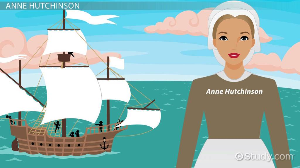 Anne Hutchinson in The Scarlet Letter & History   Video & Lesson