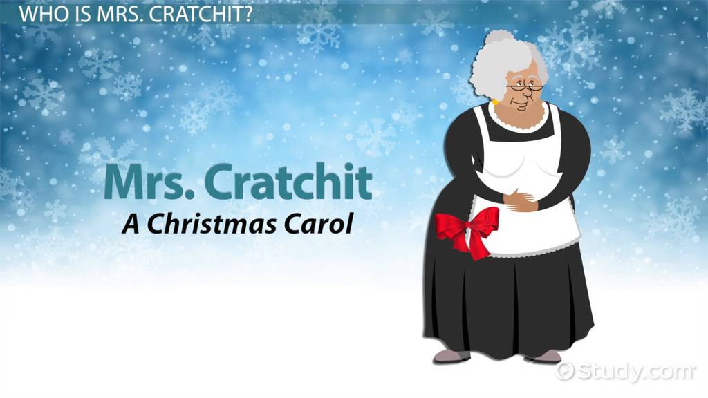 Mrs Cratchit In A Christmas Carol Video Lesson Transcript