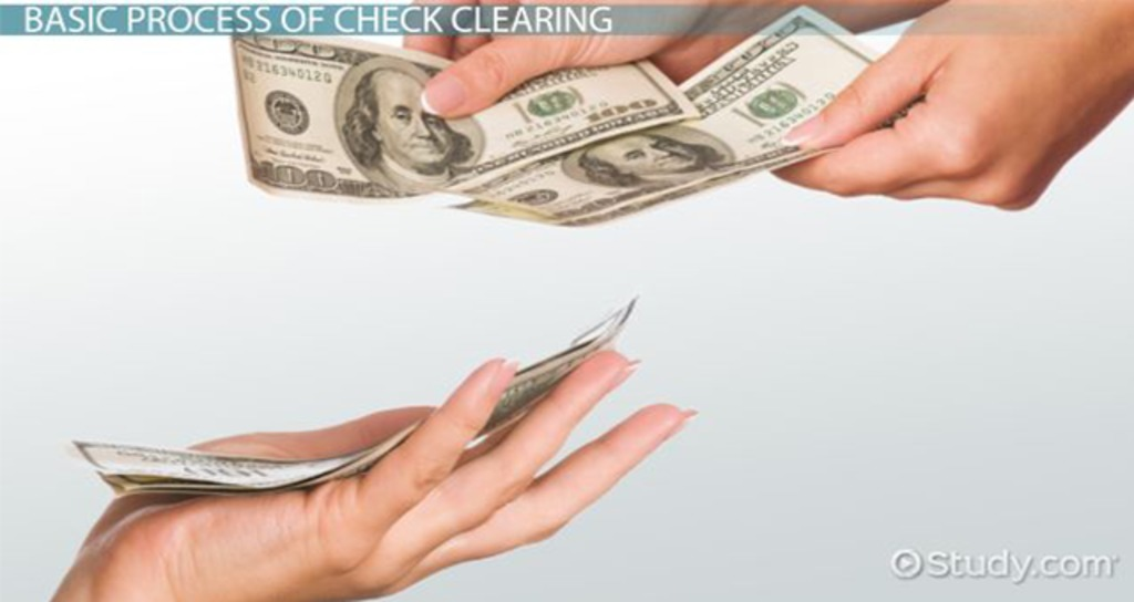 Check Clearing: Definition, Process & Rules - Video & Lesson