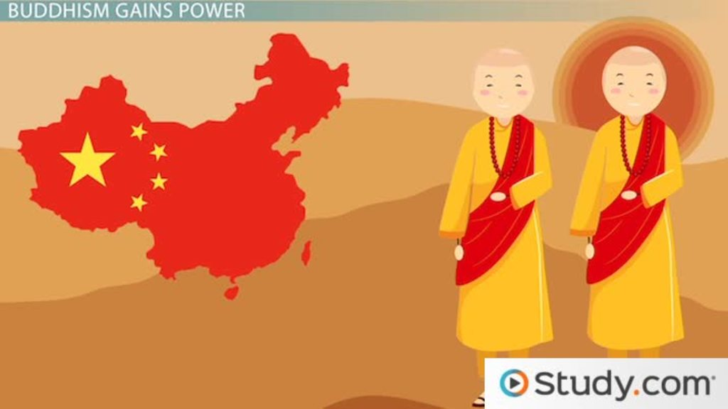 a history of the spread of buddhism in china