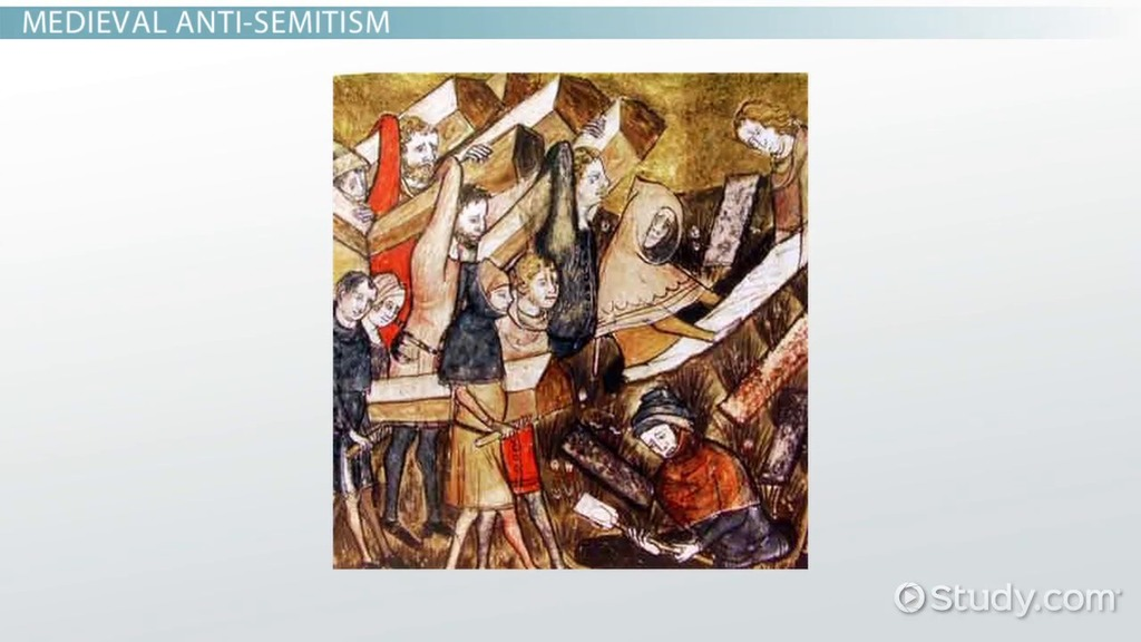 Christian Antisemitism in Medieval Europe  Video   Lesson