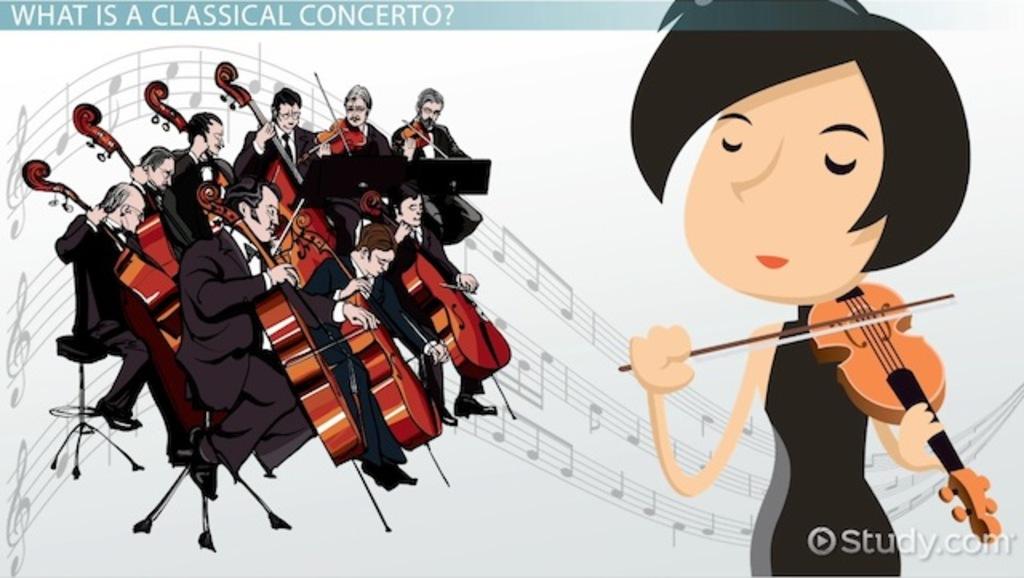 Cadenza Music Definition : Classical concerto definition form video lesson transcript