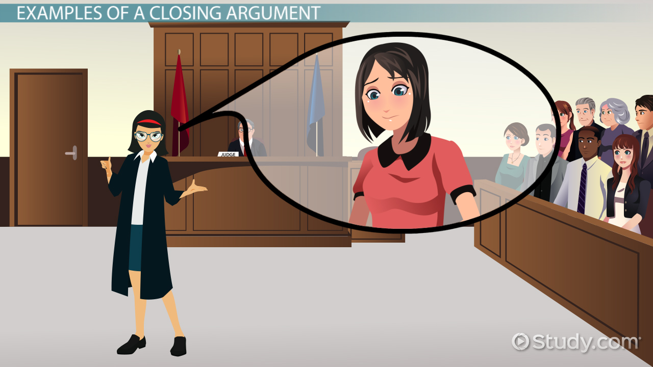 Closing Argument Outline Themes Example Video Lesson