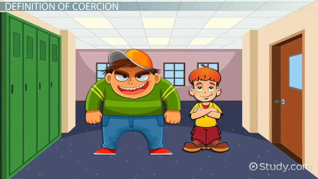 Coercion: Legal Definition & Example - Video & Lesson Transcript | Study.com
