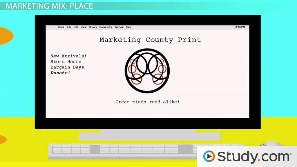 The marketing mix product place price promotion video the marketing mix product place price promotion video lesson transcript study fandeluxe Image collections