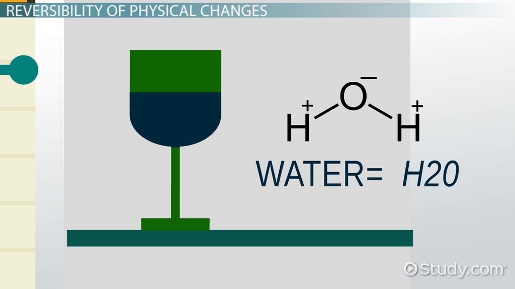 comparing reversible  u0026 irreversible physical  u0026 chemical