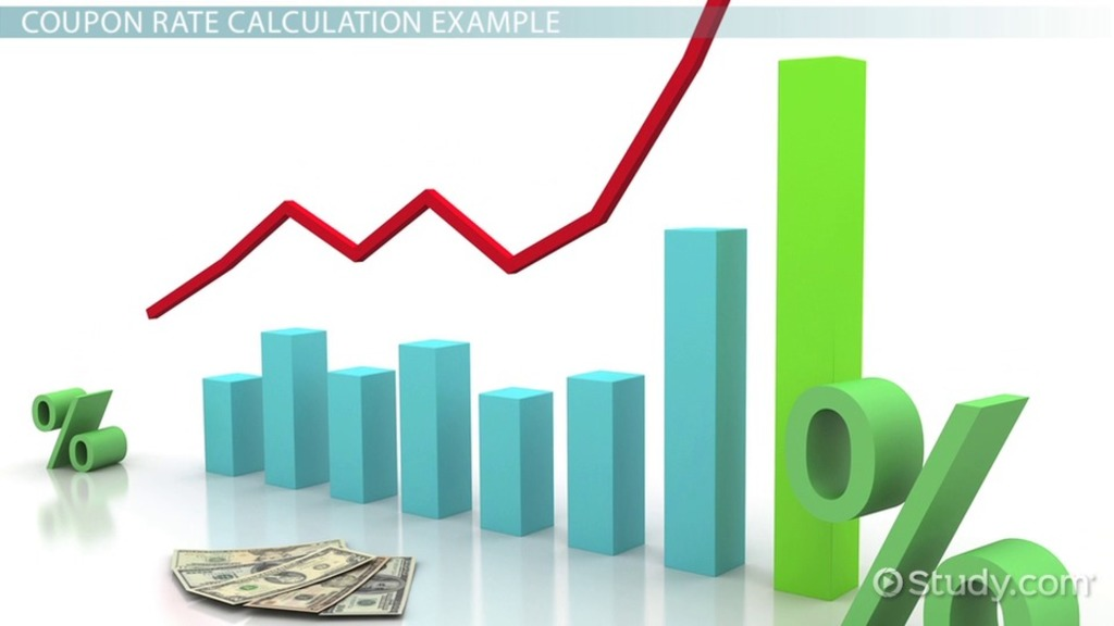 coupon rate definition formula amp calculation video