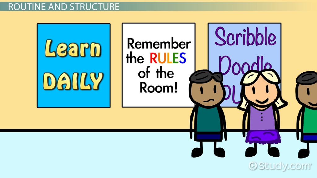 Research Design On Classroom Management ~ Preschool classroom management strategies video lesson