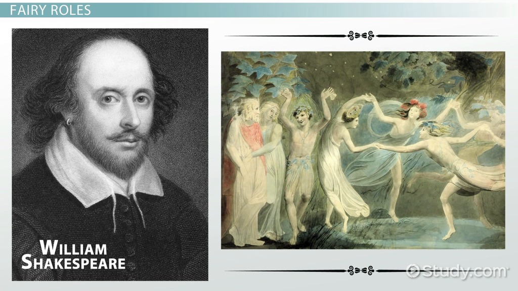 fairies in shakespeare  meaning  overview