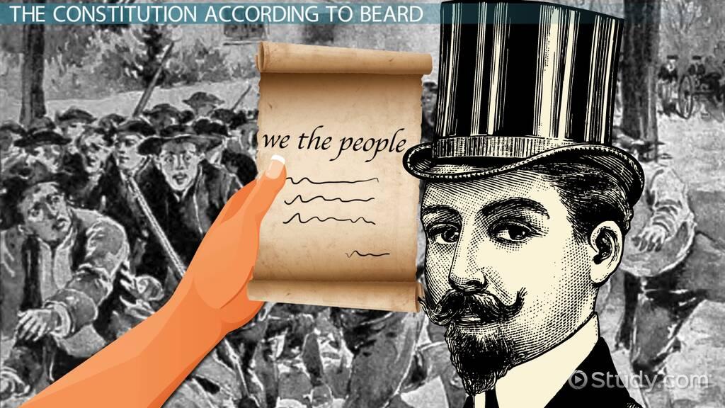 Creation Of The U S Constitution Charles Beard S Interpretation Nmta Class Video Study Com