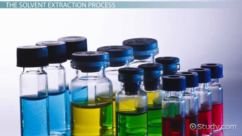 Solvent Extraction Definition Process Video Lesson Transcript Study Com