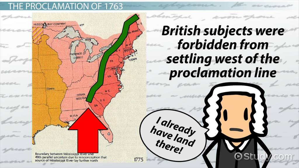 What is the Proclamation of 1763? - Lesson for Kids ...