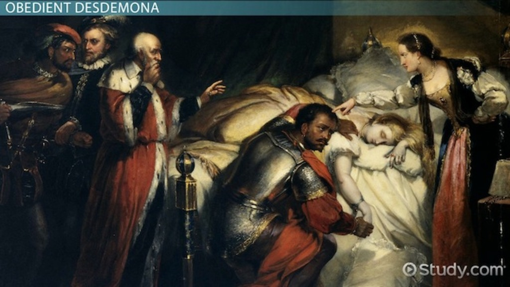 an analysis of act ii of the story of othello Summary and analysis the story of william shakespeare's othello is set in 16th-century venice and cyprus othello the moor, a noble black warrior in the venetian army, has secretly married a beautiful white woman called desdemona, the daughter of a prominent senator, brabantio.