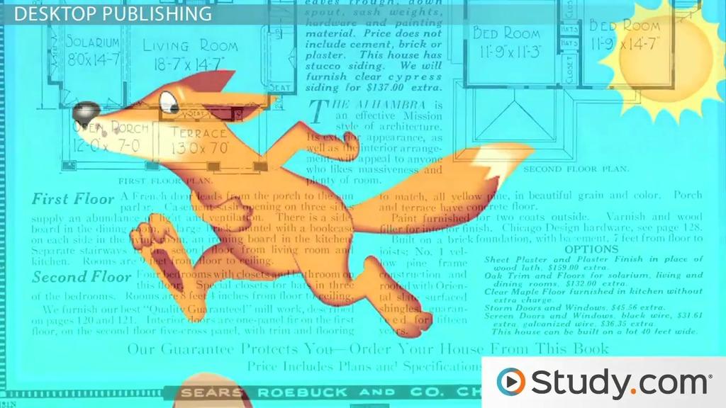 Desktop Publishing Word Processing Software Ms Word Indesign