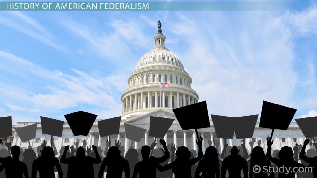 a study on american federalism Used in comparative study in this essay, however, it will be applied only to the  united states my object will be to outline a scheme for describing and explaining .
