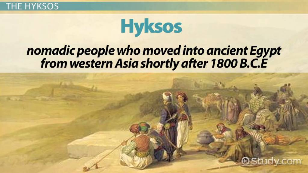 Hyksos Definition History People Video Lesson