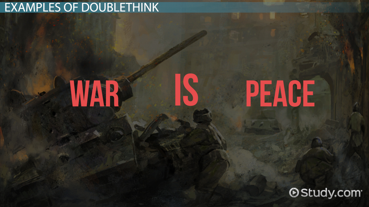 Doublethink in 1984: Definition & Examples - Video & Lesson