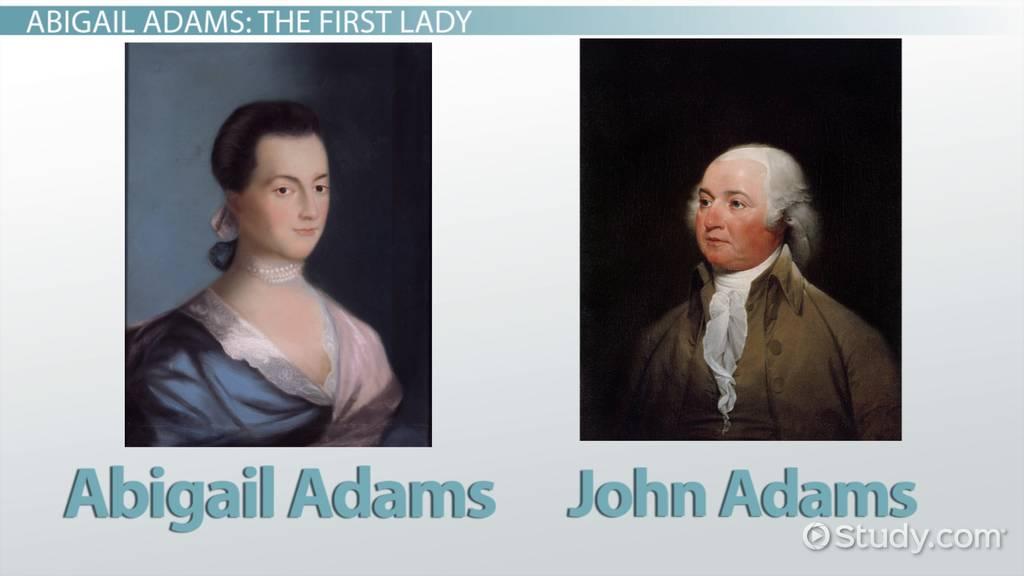 abigail adams biography