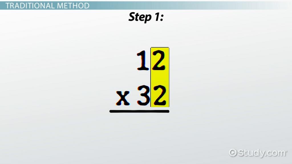 Double Digit Multiplication Strategies