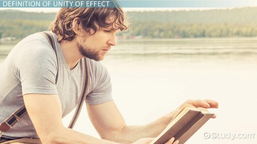 Edgar Allan Poe's Unity of Effect: Definition & Concept