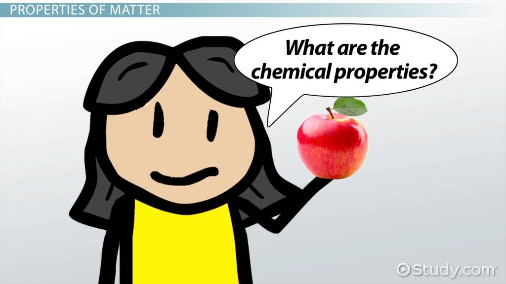 Chemical Properties Lesson For Kids Video Lesson Transcript