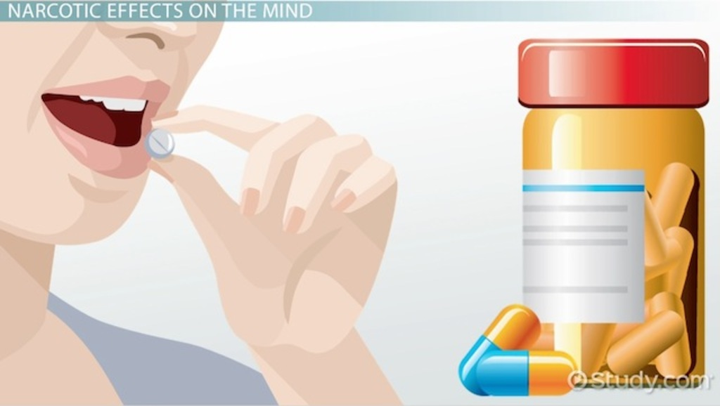 Effects Of Narcotic Drugs On The Mind Body Video Lesson