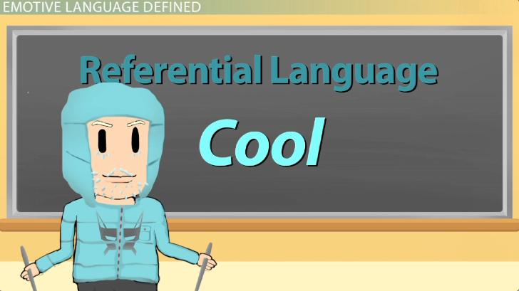 Emotive language analysis.