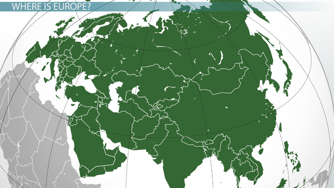 europe amp eurasia geography of the land mass video