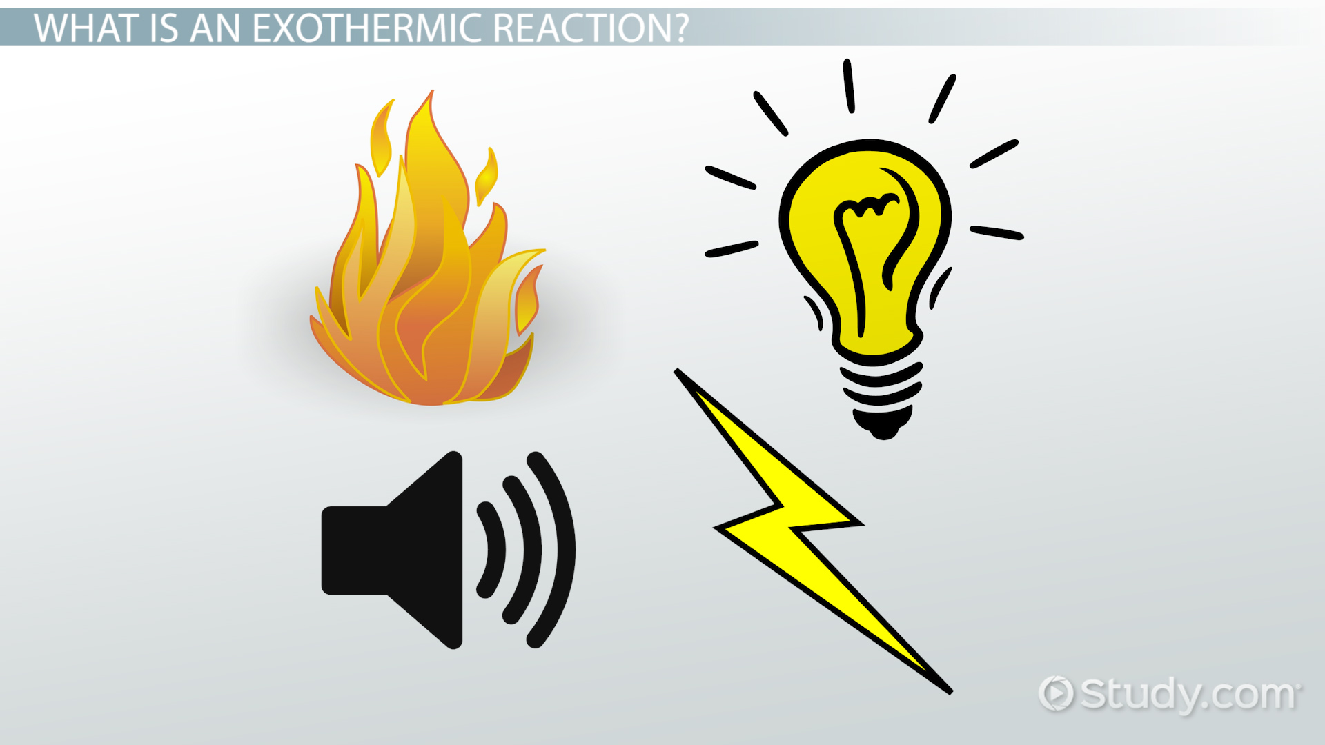 Exothermic Reaction Definition Example Video Lesson
