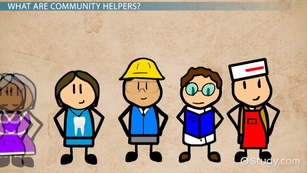 Community Helpers For Preschool Video Amp Lesson