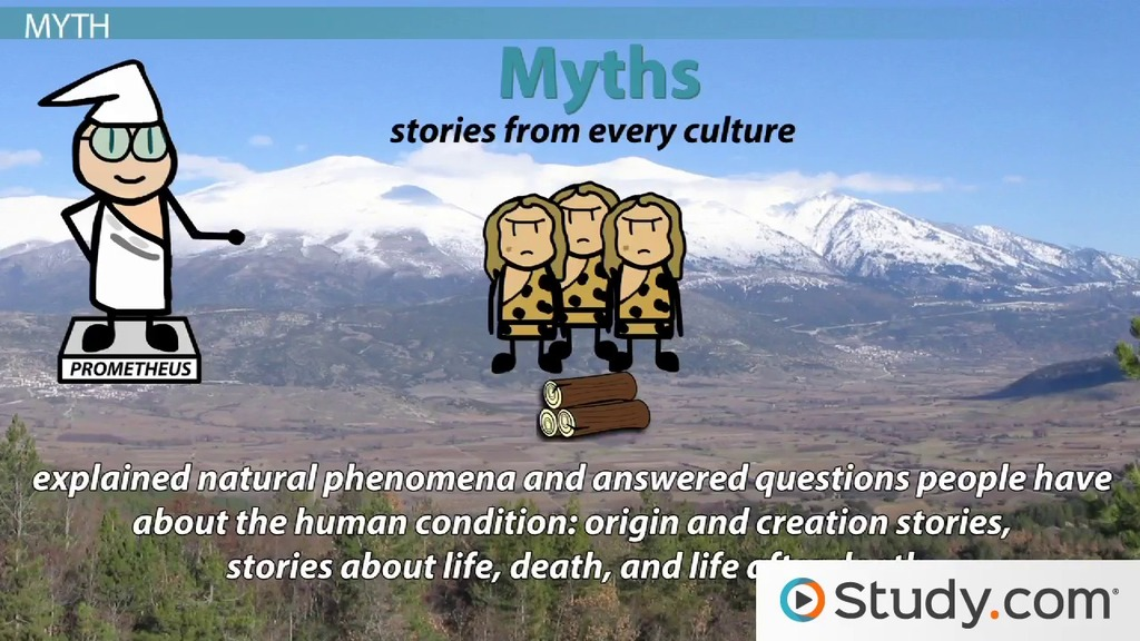 The Fable, Folktale, Myth, Legend: Differences and Examples - Video