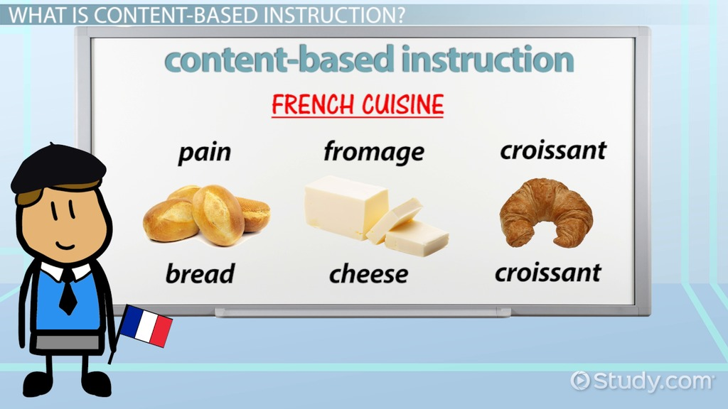 Content Based Instruction Definition Example Video Lesson