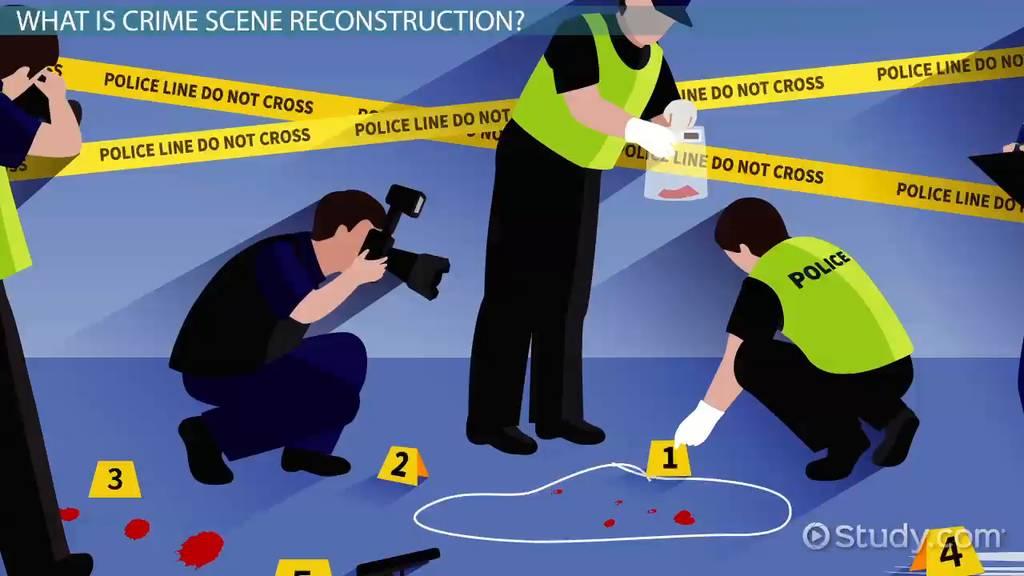 crime scene reconstruction  definition  u0026 uses