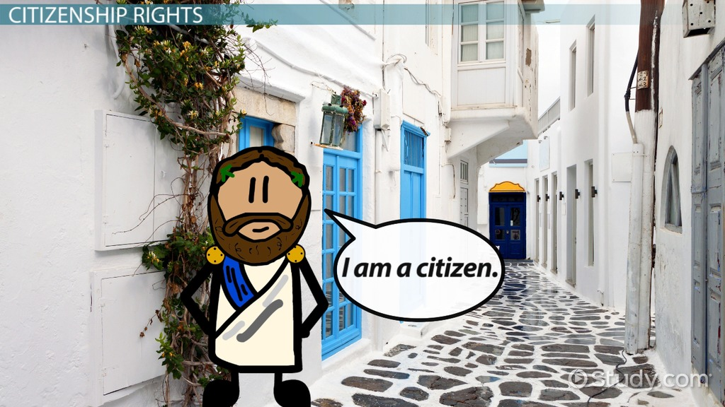 Significance Of Citizenship In Ancient Greece Video Lesson