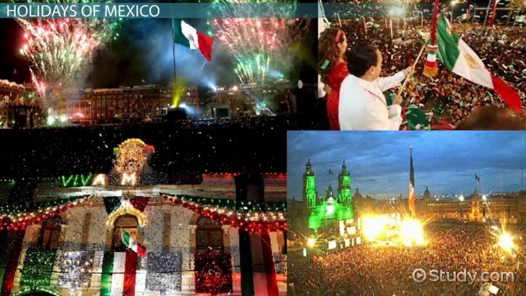 mexican holidays traditions celebrations video lesson transcript. Black Bedroom Furniture Sets. Home Design Ideas