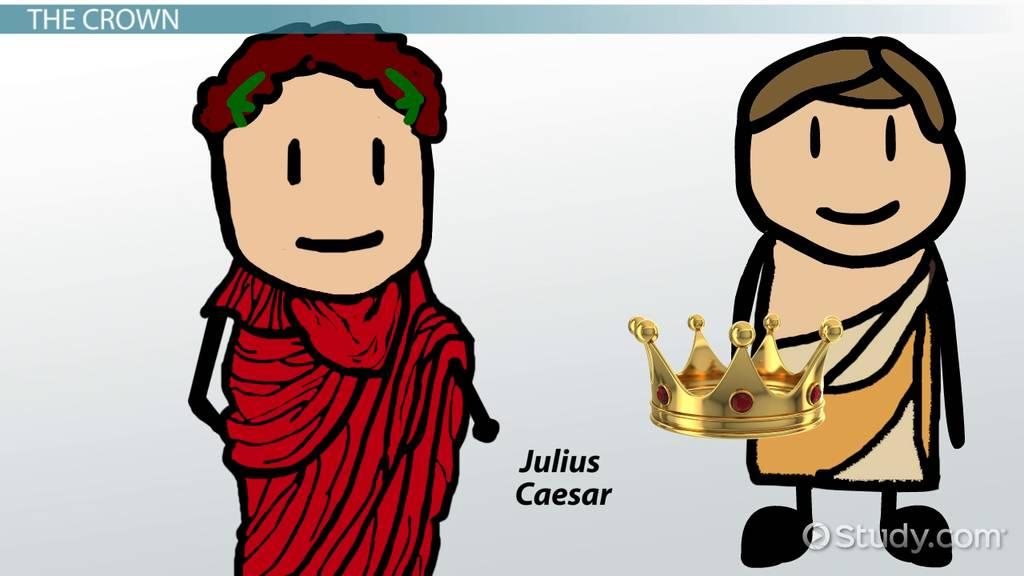 Symbols In Julius Caesar Video Lesson Transcript Study