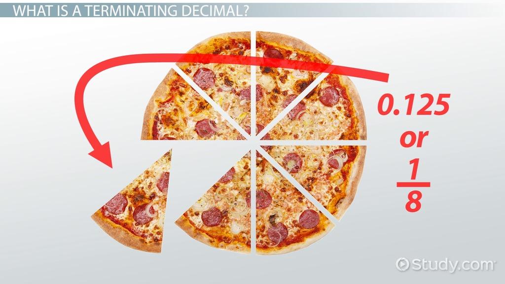 Terminating Decimal Definition Amp Example Video Amp Lesson