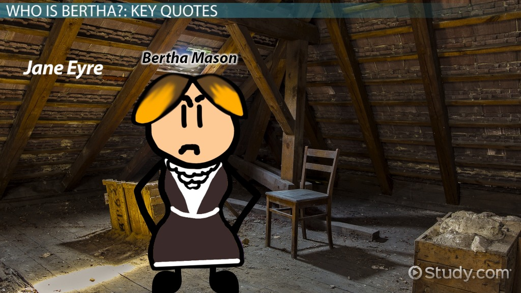 Bertha Mason In Jane Eyre Character Analysis Quotes Video
